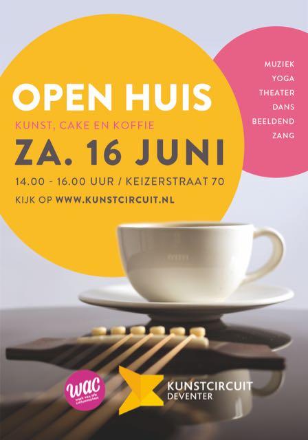 poster Open Huis Kunstcircuit Deventer