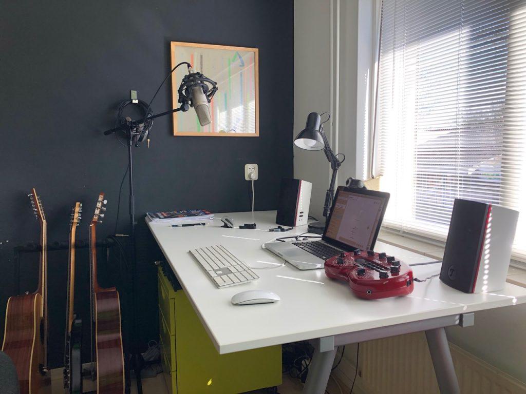 Online gitaarles studio